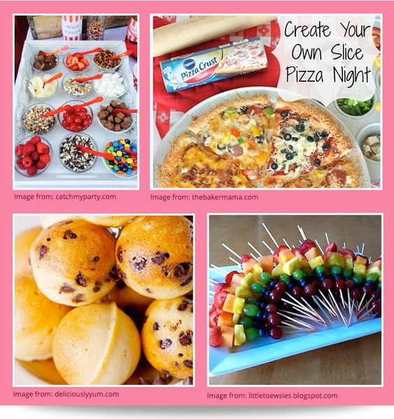 Slumber Party Ideas At Birthday In