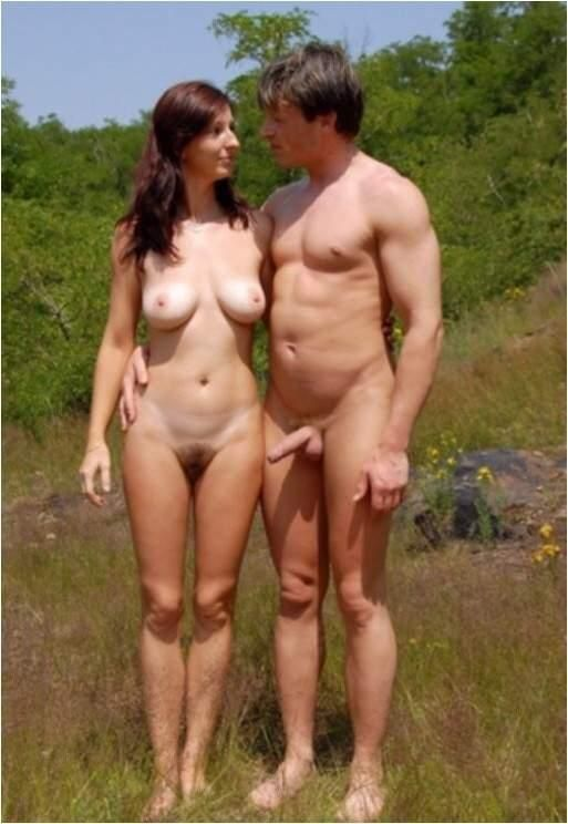 Free nudist couple photographs