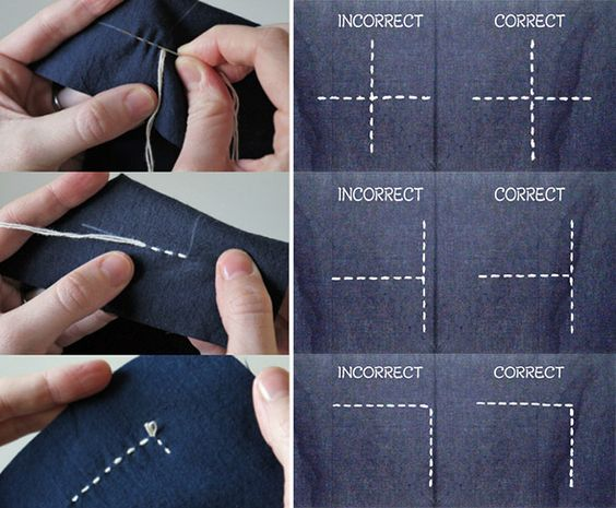 Sashiko, un bordado diferente / Sashiko, a different embroidery   mil dedales                                                                                                                                                     Más