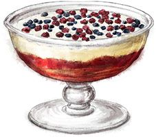 Trifle for jubilee