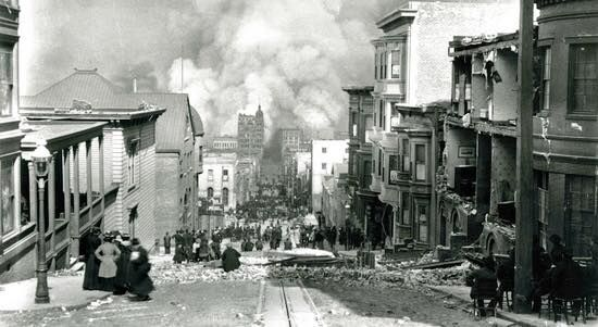 The Great San Francisco Fire And Earthquake Of 1906 San Francisco Earthquake Rare Historical Photos