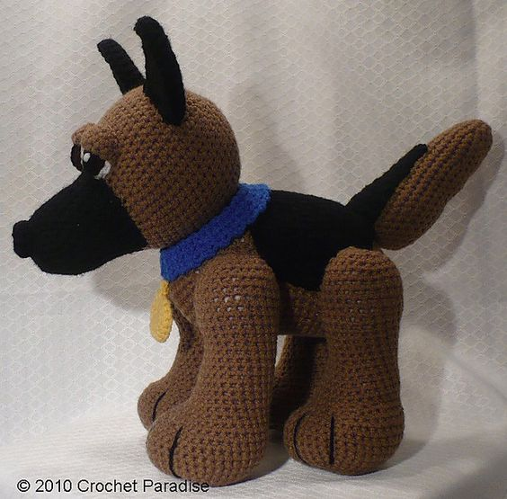 Ravelry: Lou the German Shepherd - Crochet Pattern pattern by France Allard