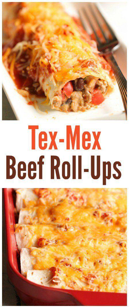 Tex-Mex Beef Roll-Ups