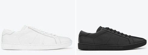 Saint Laurent Monochrome Sneakers