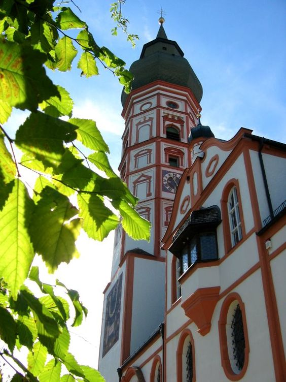 Kloster Andechs, Bayern, Bavaria - Home of the famous Andechser Beer made by the Monks there