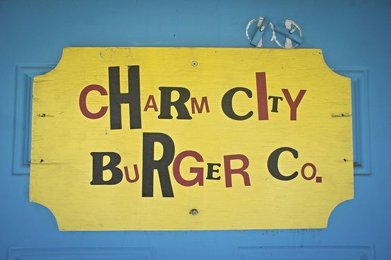 Charm City Burger by jeremy.wilburn, via Flickr
