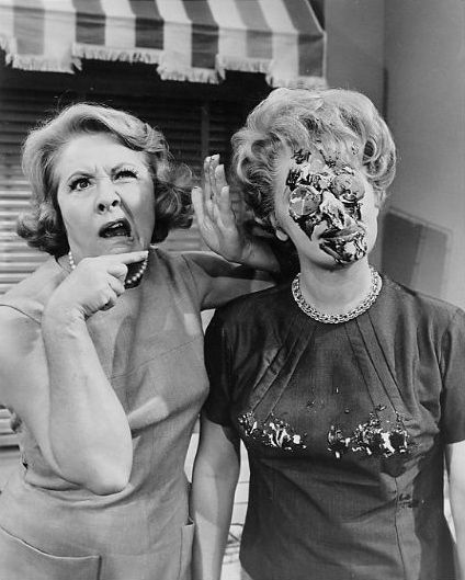 Vivian Vance and Lucille Ball. How could you not grow up loving acting after watching these two?!