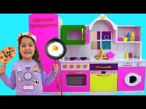Masal Oyku Pretend Play With Deluxe Kitchen Toy Set Fun Kids Video Youtube Toy Kitchen Set Youtube Videos For Kids Toy Sets
