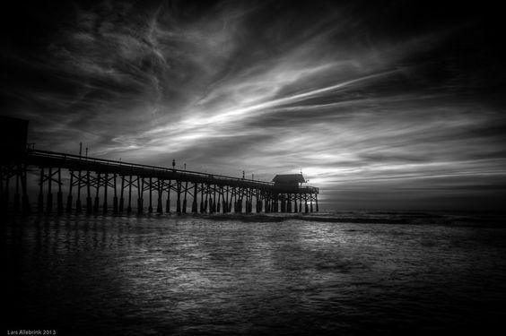 500px / Photo Tonemapped IR Pier by Lars Allebrink