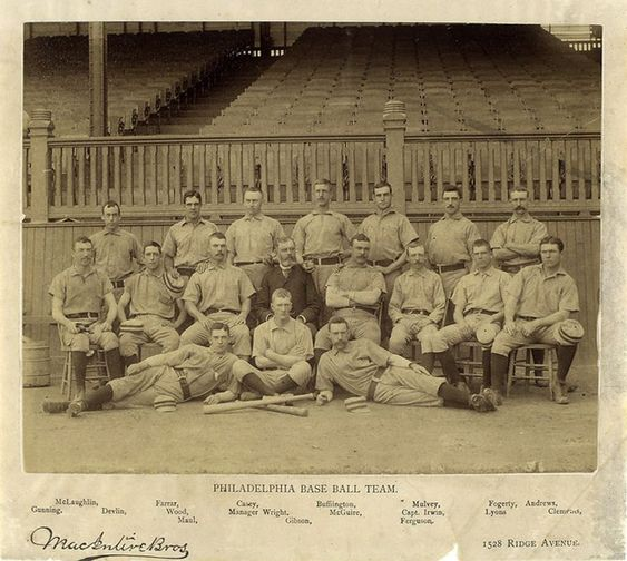 4/19/1900 / The Philadelphia Phillies beat the Boston Braves 19-17 in 10 innings to set a record for most runs scored by both teams on opening day.  The Braves plated 9 runs in the 9th to go to extra innings.