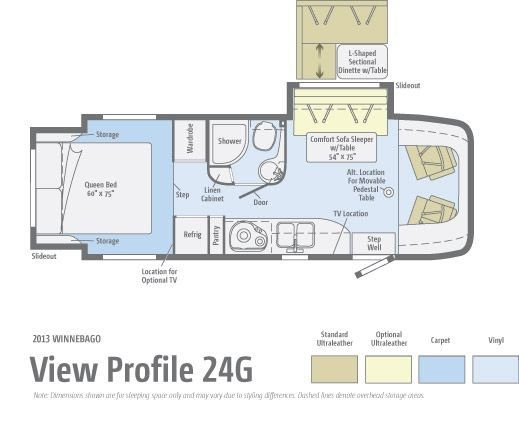 25' class a rv floor plan - google search | rv / wagon / tiny home