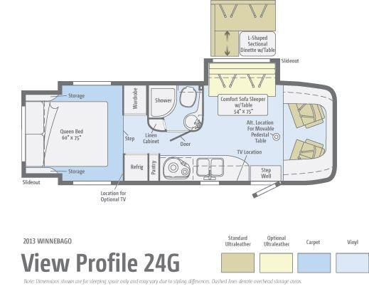 25 Class A Rv Floor Plan Google Search Rv Wagon