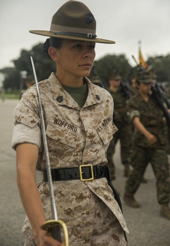 Drill Instructors at Parris Island   ... native a Marine Corps ...