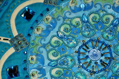 """Detail of """"Bella Donna"""" by Barbara Stover"""