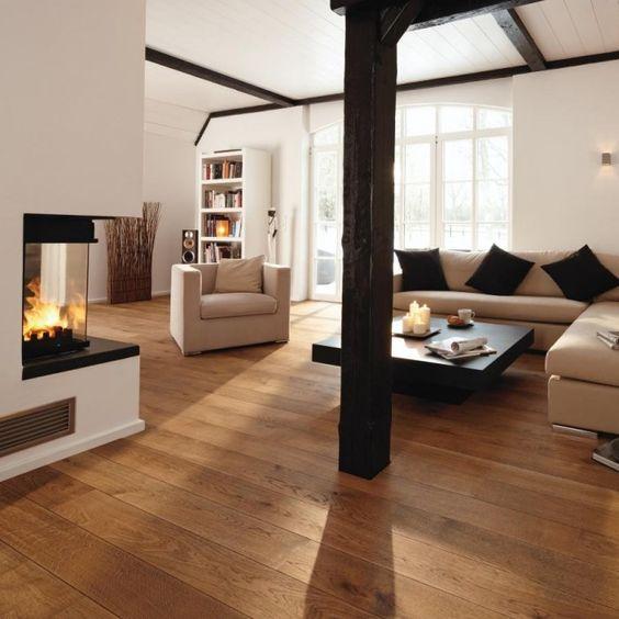 14mm Oak Engineered BOEN Flooring Underfloor Heating London