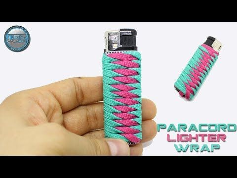 How To Make Paracord Lighter Holder Fast And Easy Paracord Lighter Wrap 2 Colors Diy Youtube Paracord Projects Diy Paracord Bracelet Diy Paracord Diy