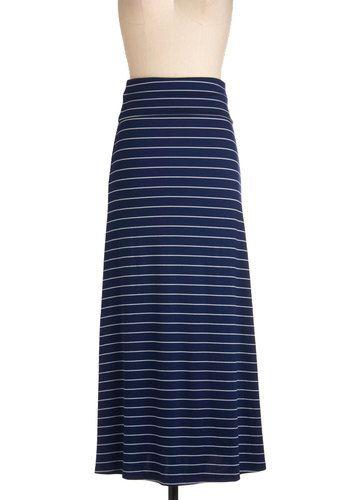 Stripe Right Up Skirt