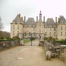 Saint Loup sur Thouet Le château
