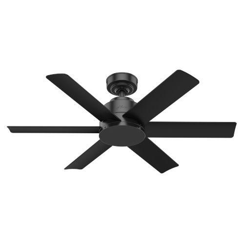 Hunter Fans Kennicott Matte Black 44 Inch Outdoor Ceiling Fan 59613 Bellacor In 2021 Black Ceiling Fan Outdoor Ceiling Fans Matte Black Ceiling Fan 44 inch outdoor ceiling fan