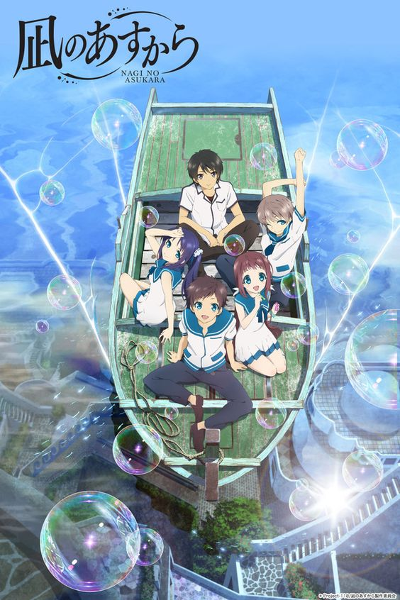 Nagi no Asukara (Nagi-Asu: A Lull in the Sea) Anime ENG-Sub
