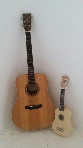 guitar + ukulele ~