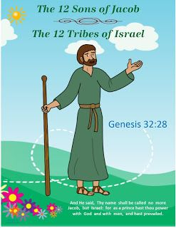 Bible Fun For Kids: Genesis: Jacob & His Family