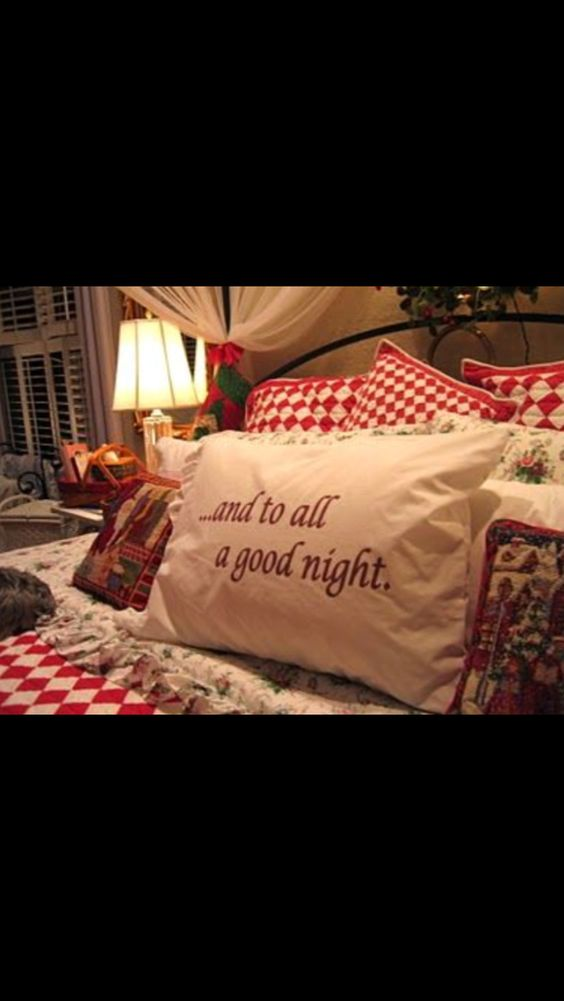 ...and to all a good night...
