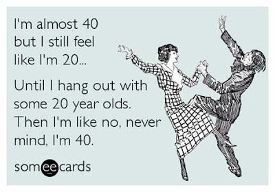 funny quotes turning 40