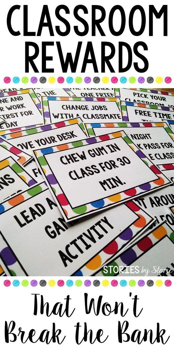 Classroom Rewards That Won't Break the Bank |