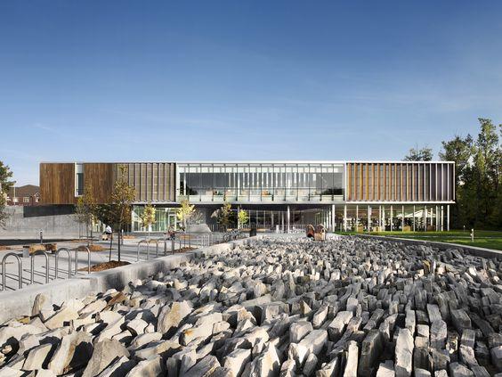 Bibliothèque Raymond-Lévesque Atelier TAG + Jodoin Lamarre Pratte architectes en consortium