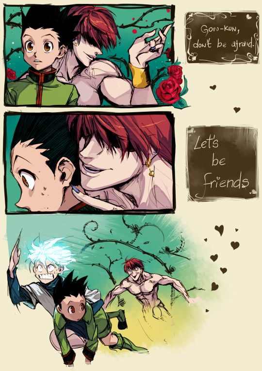 hisoka and gon relationship test