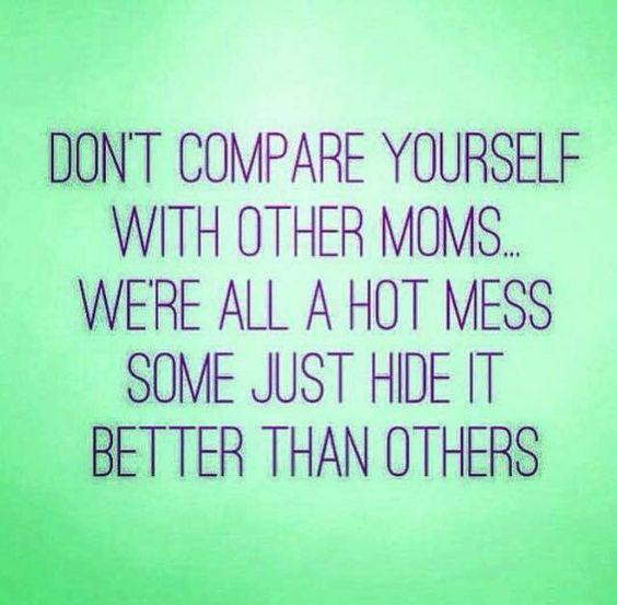 We're all a hot mess. #MomMotivation #breastfeeding #AeroflowBreastpumps