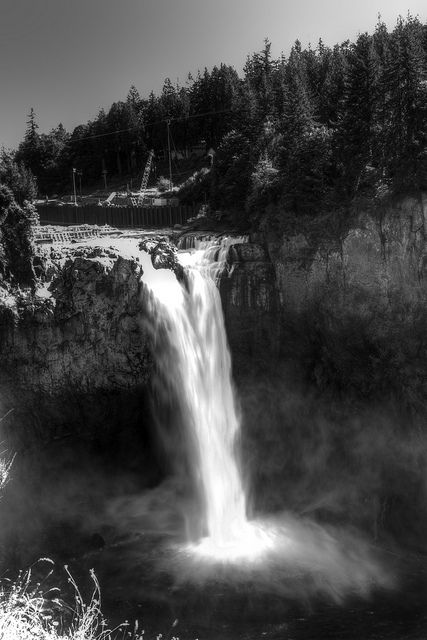 Snoqualmie Falls.: Favorite Places, Iconically Northwest, Snoqualmie Falls, Travel Washington, Places Spaces