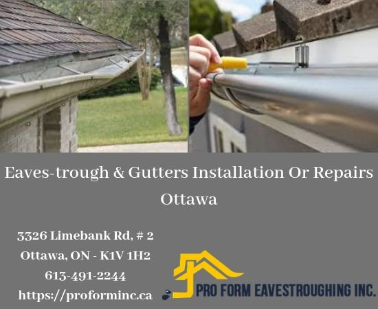 Ottawa Eavestrough Gutter Cleaning Affordable Services How To Install Gutters Cleaning Gutters Eavestrough Cleaning