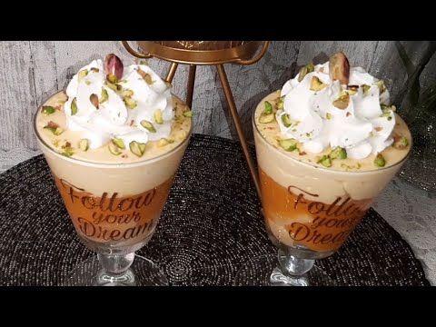 روائع ميموزا كؤوس موس البرتقال طريقة ميموزية خالصة ماتلقاوها في حتى مكان البنة مانحكيلكمش Youtube Food Desserts Pudding
