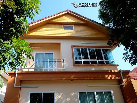 บ้านคุณธวัชชัย ชีวเสถียรชัย MDKK064 บ้านพักอาศัย 2 ชั้น 2 ห้องนอน 2 ห้องน้ำ #รับสร้างบ้านขอนแก่น #รับสร้างบ้านอุดรธานี http://www.modern-de.com