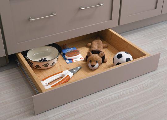 Kitchen Idea Utilize A Cardell Designer Collection Toe Kick Drawer Storage In Small Kitchen Design Kitchen Remodel Small Small Kitchen Creative Kitchen Ideas