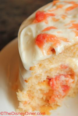 The Disney Diner: Grapefruit Cake Recipe from The Brown Derby at Disney's Hollywood Studios
