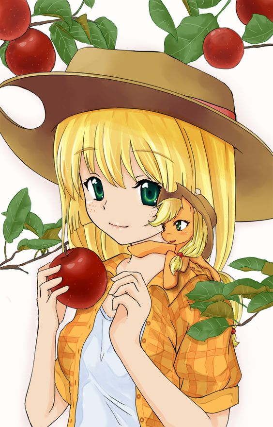 Applejacks' Apple Picking by d-tomoyo on DeviantArt: