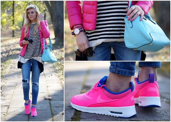 Air Max Thea Coral Outfit
