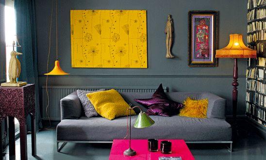 farbrausch schöner wohnen-kreative wohnzimmer einrichtung - fresHouse