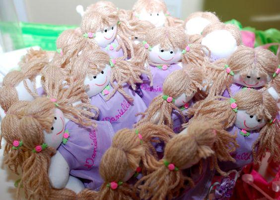 rag doll birthday party