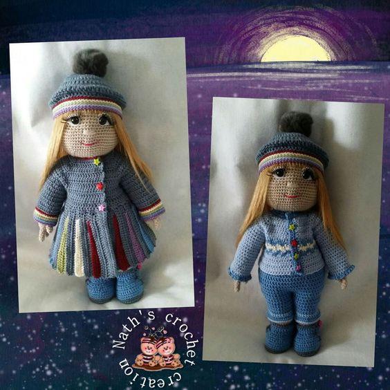 Nana et sa tenue d'hivers !