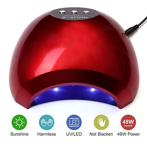 Natplus Red Nail Dryer 48w Uv Led Nail Curing Lamp Light Https Www Amazon Com Dp B07h95ywxc Ref Cm Sw R Pi Dp U X 7bizbbdtr Led Nail Lamp Gel Lamp Uv Led