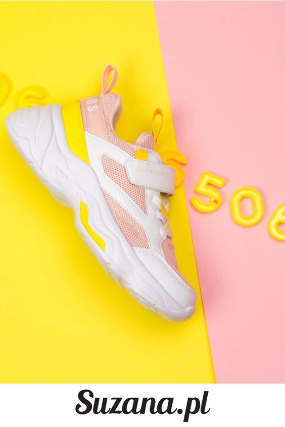 Rozowe Sportowe Buty Dzieciece Suzana 235 Sneakers Nike Nike Huarache Shoes