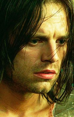 Bucky — His facial expressions are everything. <3 Oh Seb, you break my heart so effectively.