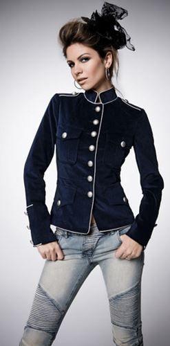 military jackets, so cute!!
