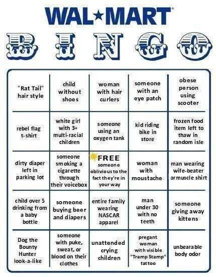 Walmart Bingo - shop online:) http://www.AmericasMall.com