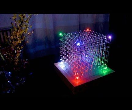 8x8x8 RGB LED-Cube Arduino, Wire and Cases - bill of material