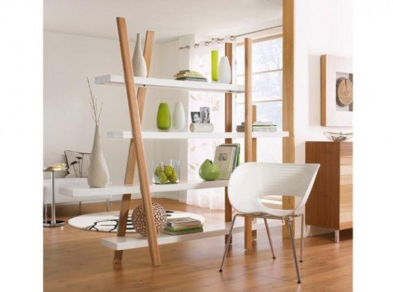 Salon blanc et bois clair - Deco salon blanc et bois ...